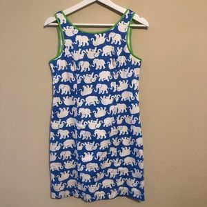 Lilly Pulitzer Tusk in Sun Elephant Shift Dress
